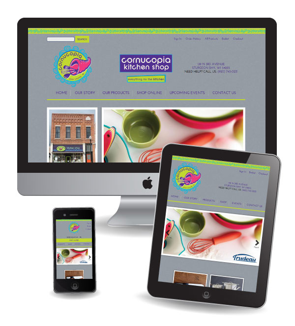 Superbe ... Ecommerce Web Design In Door County ...
