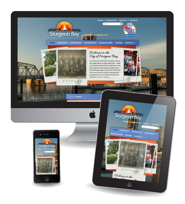 Website Design and Marketing in Sturgeon Bay, WI